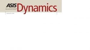 ASIS.Dynamics